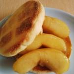 りんごのキャラメリゼ風煮+トーストがまるでクイニーアマン味な件